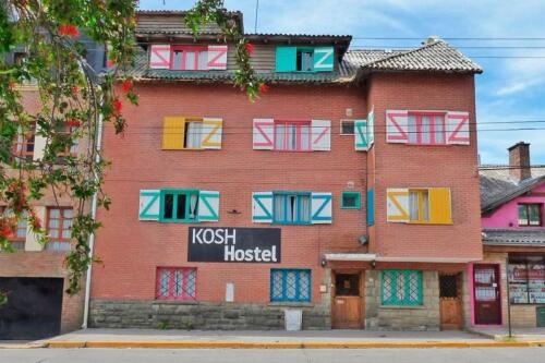 hostel kosh bariloche vista frente